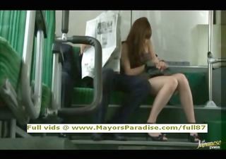 rio virginal chinese girl is drilled on the bus